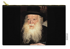Carry-all Pouch featuring the photograph Rabbi Yehudah Zev Segal by Doc Braham