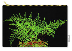 Rabbit Foot Fern Carry-all Pouch