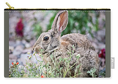 Rabbit Munching Lunch Carry-all Pouch