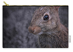 Rabbit Munching On Grass Carry-all Pouch