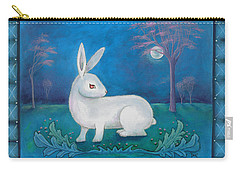 Carry-all Pouch featuring the painting Rabbit Secrets by Terry Webb Harshman