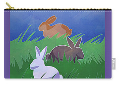 Rabbits Rabbits Rabbits Carry-all Pouch