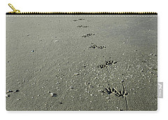 Raccoon Tracks Carry-all Pouch