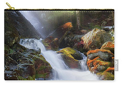 Carry-all Pouch featuring the photograph Race Brook Falls 2017 by Bill Wakeley