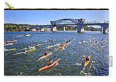 Race On The River Carry-all Pouch