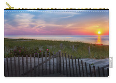 Carry-all Pouch featuring the photograph Race Point Sunset 2015 by Bill Wakeley