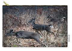 Race Through The Woods Carry-all Pouch