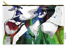 Rachel Mcadams Carry-all Pouch by Mihaela Pater