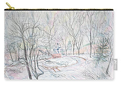 Rachmaninoff And Snow Carry-all Pouch