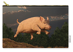 Racing Pig Carry-all Pouch