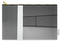 Carry-all Pouch featuring the photograph Racquetball Court   by Richard Rizzo