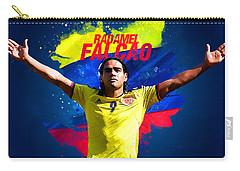 Radamel Falcao Carry-all Pouch by Semih Yurdabak