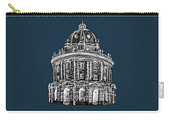 Carry-all Pouch featuring the digital art Radcliffe At Night by Elizabeth Lock
