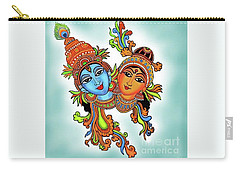 Radha With Her Krishna Carry-all Pouch