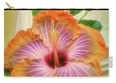 Radiant Hibiscus Carry-all Pouch