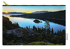 Radiant Sunrise On Emerald Bay Carry-all Pouch