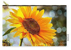 Radiant Yellow Sunflower Carry-all Pouch