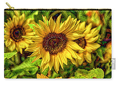 Radiate Love To The World Carry-all Pouch