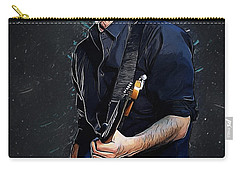 Radiohead - Thom Yorke Carry-all Pouch by Semih Yurdabak