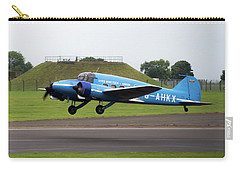 Raf Scampton 2017 - Avro Anson Nineteen During Take Off Carry-all Pouch
