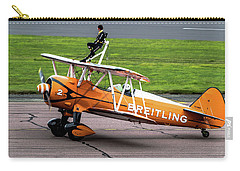 Raf Scampton 2017 - Breitling Wingwalkers At Rest Carry-all Pouch