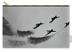 Raf Scampton 2017 - Global Stars Loop Black And White Carry-all Pouch