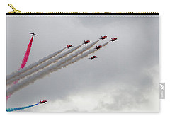 Raf Scampton 2017 - Red Arrows Tornado Formation Carry-all Pouch