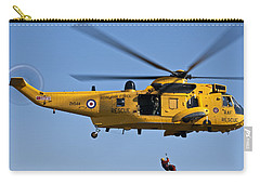 Raf Sea King Search And Rescue Helicopter 2 Carry-all Pouch
