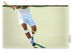 Rafael Nadal Shadow Play Carry-all Pouch by Steven Sparks