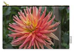 Ragged Dahlia Carry-all Pouch