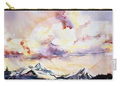 Ragged Mountains Sunset Carry-all Pouch