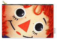 Raggedy Ann Carry-all Pouch