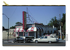 Carry-all Pouch featuring the photograph Raifords Disco Memphis A by Mark Czerniec