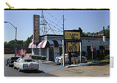 Carry-all Pouch featuring the photograph Raifords Disco Memphis B by Mark Czerniec