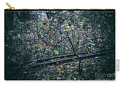 Carry-all Pouch featuring the photograph Rail by Ana Mireles