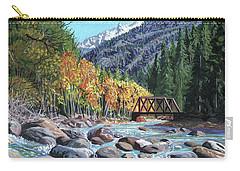 Rail Bridge At Cascade Carry-all Pouch