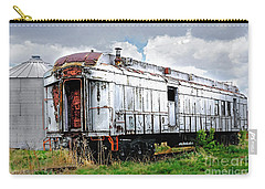 Rail Car Carry-all Pouch by Deborah Nakano
