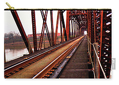 Carry-all Pouch featuring the photograph Railroad 2 by Ester Rogers