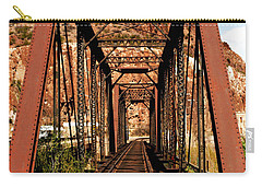 Railroad Bridge Carry-all Pouch