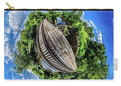 Carry-all Pouch featuring the photograph Railroad Bridge by Randy Scherkenbach