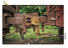 Railroad Car Coupling Carry-all Pouch