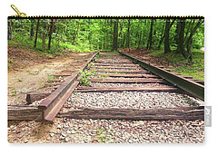 Railroad Tracks To Neverland Carry-all Pouch