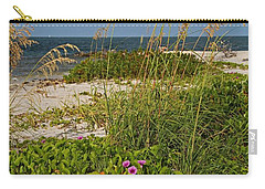 Railroad Vines On Boca Iv Carry-all Pouch