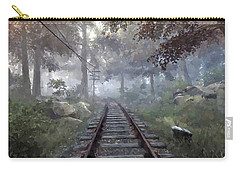 Rails To A Forgotten Place Carry-all Pouch