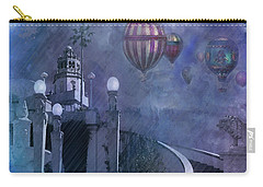 Rain And Balloons At Hearst Castle Carry-all Pouch