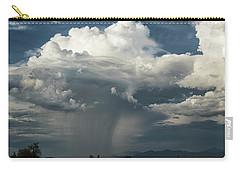 Carry-all Pouch featuring the photograph Rain, Beautiful Rain  by Saija Lehtonen