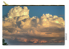Rain Clouds Over The Prairie Carry-all Pouch