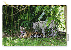 Rain Forest Tigers Carry-all Pouch