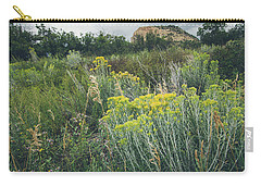 Carry-all Pouch featuring the photograph Rain Glow by Margaret Pitcher