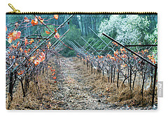 Rain In The Vineyard Carry-all Pouch